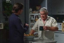 Drew Kirk, Lou Carpenter in Neighbours Episode 3876