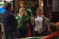Drew Kirk, Dee Bliss, Steph Scully, Libby Kennedy in Neighbours Episode 3876
