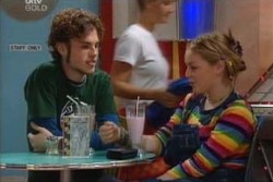 Zac Shaw, Michelle Scully in Neighbours Episode 3876