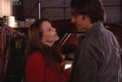 Drew Kirk, Libby Kennedy in Neighbours Episode 3880