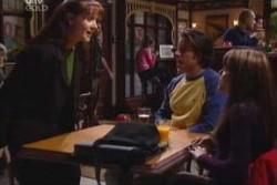 Susan Kennedy, Drew Kirk, Libby Kennedy in Neighbours Episode 3881