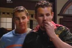 Toadie Rebecchi, Joel Samuels in Neighbours Episode 3881