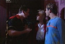 Toadie Rebecchi, Dee Bliss, Joel Samuels in Neighbours Episode 3881