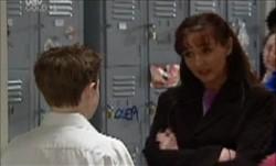 Leo Hancock, Susan Kennedy in Neighbours Episode 3882