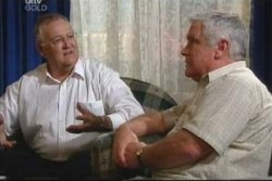 Harold Bishop, Lou Carpenter in Neighbours Episode 3884