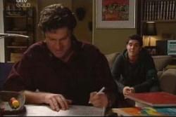 Evan Hancock, Matt Hancock in Neighbours Episode 3884