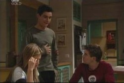 Felicity Scully, Paul McClain, Tad Reeves in Neighbours Episode 3887