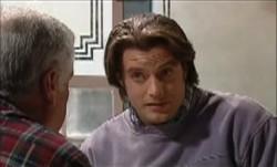 Lou Carpenter, Drew Kirk in Neighbours Episode 3888