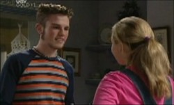 Zac Shaw, Michelle Scully in Neighbours Episode 3891