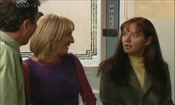 Karl Kennedy, Maggie Hancock, Susan Kennedy in Neighbours Episode 3893