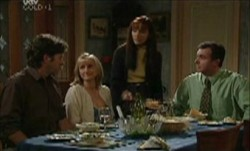 Evan Hancock, Maggie Hancock, Susan Kennedy, Karl Kennedy in Neighbours Episode 3893