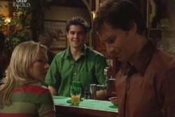 Steph Scully, Matt Hancock, Darcy Tyler in Neighbours Episode 3894