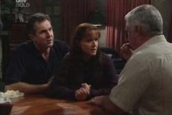 Karl Kennedy, Susan Kennedy, Lou Carpenter in Neighbours Episode 3894