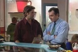 Karl Kennedy, Evan Hancock in Neighbours Episode 3894