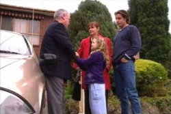 Lou Carpenter, Louise Carpenter (Lolly), Susan Kennedy, Drew Kirk in Neighbours Episode 3896