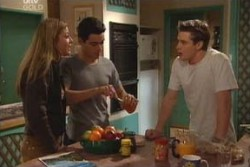 Felicity Scully, Paul McClain, Tad Reeves in Neighbours Episode 3896