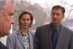 John Allen, Sandy Allen, Lou Carpenter in Neighbours Episode 3896