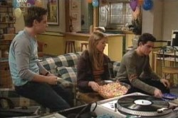 Tad Reeves, Felicity Scully, Paul McClain in Neighbours Episode 3896