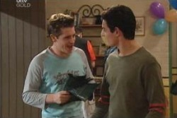 Tad Reeves, Paul McClain in Neighbours Episode 3897