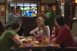 Tad Reeves, Felicity Scully, Paul McClain in Neighbours Episode 3897