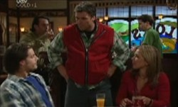 Drew Kirk, Joe Scully, Steph Scully in Neighbours Episode 3899