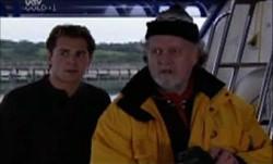 Joel Samuels, Vernon Wells in Neighbours Episode 3900