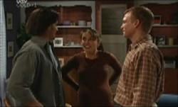 Drew Kirk, Libby Kennedy, Scott Gibson in Neighbours Episode 3903