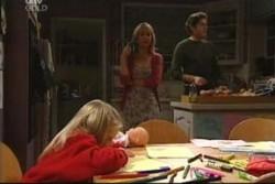 Emily Hancock, Maggie Hancock, Evan Hancock in Neighbours Episode 3904