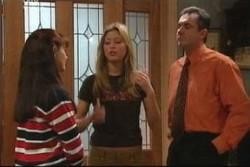 Susan Kennedy, Felicity Scully, Karl Kennedy in Neighbours Episode 3904