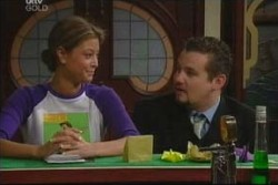 Felicity Scully, Toadie Rebecchi in Neighbours Episode 3906