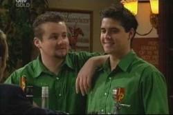 Toadie Rebecchi, Matt Hancock in Neighbours Episode 3906