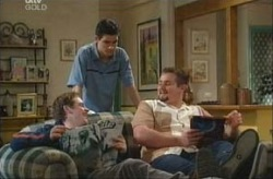 Tad Reeves, Paul McClain, Toadie Rebecchi in Neighbours Episode 3914