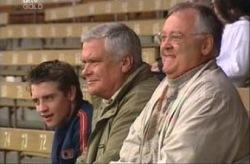 Tad Reeves, Harold Bishop, Lou Carpenter in Neighbours Episode 3914