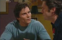 Darcy Tyler, Evan Hancock in Neighbours Episode 3915