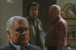 Lou Carpenter, Drew Kirk, Harold Bishop in Neighbours Episode 3915