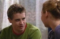 Tad Reeves, Michelle Scully in Neighbours Episode 3924