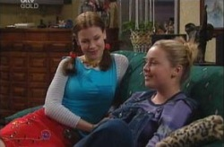 Elly Conway, Michelle Scully in Neighbours Episode 3924