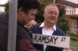 Joe Scully, Harold Bishop in Neighbours Episode 3925
