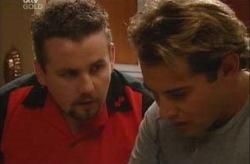 Toadie Rebecchi, Joel Samuels in Neighbours Episode 3927