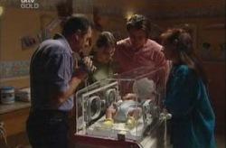 Karl Kennedy, Libby Kennedy, Karl Kennedy, Ben Kirk, Susan Kennedy in Neighbours Episode 3927
