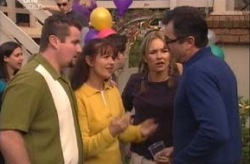 Toadie Rebecchi, Susan Kennedy, Steph Scully, Karl Kennedy in Neighbours Episode 3927