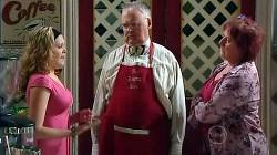 Janae Timmins, Harold Bishop, Angie Rebecchi in Neighbours Episode 4925