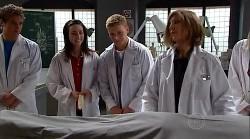 Dr Roberta Marley, Sasha Hennessy, Boyd Hoyland in Neighbours Episode 4925