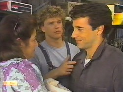Mrs Romeo, Henry Ramsay, Tony Romeo in Neighbours Episode 0646