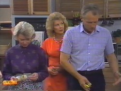 Helen Daniels, Madge Ramsay, Jim Robinson in Neighbours Episode 0646