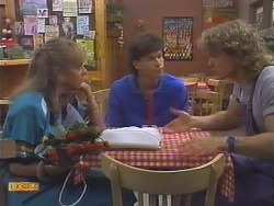 Jane Harris, Mike Young, Henry Ramsay in Neighbours Episode 0646