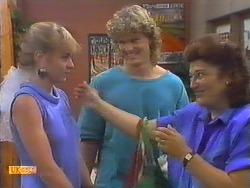 Jane Harris, Henry Ramsay, Mrs Romeo in Neighbours Episode 0647