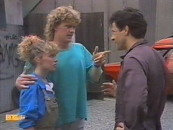 Charlene Robinson, Henry Ramsay, Tony Romeo in Neighbours Episode 0647
