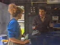 Charlene Robinson, Tony Romeo in Neighbours Episode 0647