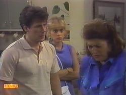 Tony Romeo, Jane Harris, Mrs Romeo in Neighbours Episode 0647